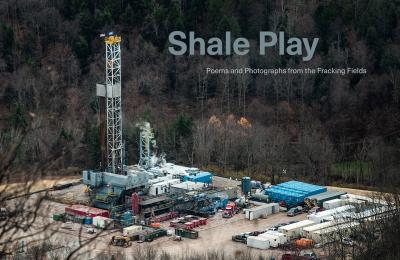 Drilling rig at an Inflection Energy well pad site along Yeagle Road in Eldred Township, Lycoming County, Pennsylvania